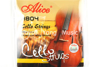 Wholesale Alice A804 Steel Core Aluminum Alloy Wound Cello Strings Set of Strings Wholesales