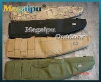 Wholesale magaipuoutdoor Magazine Pouches Tactical Airsoft Hunting Shooting Short Gun Rifle Cushion Padded Slip Hand Carry Strap Bag