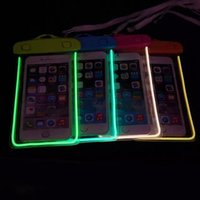 Wholesale Selling Transparent Bag - 2015 Hot Selling Under 6 Inch Cell Phone Transparent Waterproof Underwater Pouch Bag Dry Case Cover For Mobile Phone
