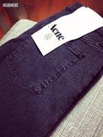 acne jeans - Hot sale comfortable fashion classic fantastic elastic Women ACNE skinny five jeans close fitting pants