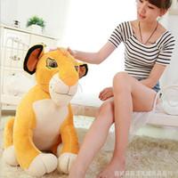 baby simba plush - Hot Sale cm Lion King Cartoon Stuffed Simba Lion Toy Story Plush Baby Toy Doll Simba Lion Stuffed Animal Gifts487