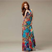 Cheap plus size long summer dresses