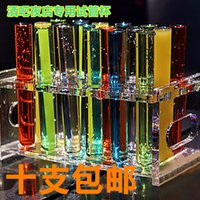 Wholesale Evening special cocktail bar in vitro crimping tube cup drinking cup the glass glass test tube rack
