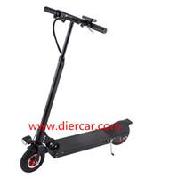 Wholesale 30KM rage speed km h folded MINI Black Smart Two Wheels Self balancing Electric Bicycle