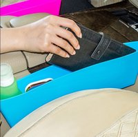 Wholesale Car styling car seat pocket catcher car storage box automobile glove box Colors Catch Catcher Box Caddy Retail