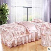 Wholesale 2014 limited hot sale comforter set roupa de cama duvet cover massage bedspread bed piece set beauty skirt sets