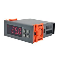 Wholesale RINGDER RC M V A C Cool Heat ON OFF Relay Digital Temperature Controller Regulator Thermostat for Heating NTC sensor