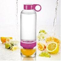 Wholesale Hotsell New Citrus Zinger Fruit Infusion Water Bottle Citrus Zinger Water Bottles with Citrus Juicer Lemon cup