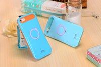 al por mayor iglow caso del iphone-Híbrido CALIENTE iGlow color dual de la contraportada del caso del soporte para el Galaxy S5 S6 S7 para Iphone 6 Plus Con caja al por menor