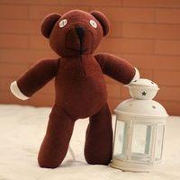 bear bean bag - CM Mr Bean Tactic bear doll genuine doll plush toy bear creative Christmas gift bag mail small boys