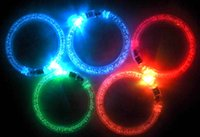 Wholesale Light Up Bracelets Free Shipping - LED Flashing bracelet 10pcs lot , light up bracelet , luminous bracelet,for bar,Halloween,Chiristmas Free shipping