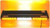 led emergency light bar - US Stock High Power Double Side Long LED Car Truck LED Emergency Strobe Flash Light Bar Scanner Lamp Beacon Grille Amber White