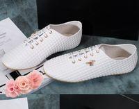 Wholesale Fashion Oxford Big Girls Lace Up Casual Shoes Korean New PU Leather Soft Bottom Women Shoe Ladies Comfort Flat Shoes Black White J4641