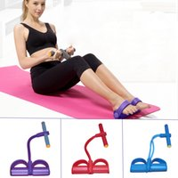 Wholesale Fitness Exercise Feet Pedal Puttee Pull Rope sport elastico para exercicios resistance bands Elastic Yoga Slim Lose Weight