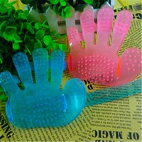 Wholesale 2015 new fashion Pet Massage Glove beauty care brush cats generic massage creative design