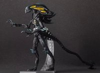 aliens marine - Justice League Aliens Action Figure Aliens Colonial Marines Doll PVC ACGN figure Toy Brinquedos Anime CM