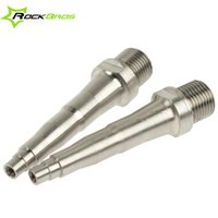 Wholesale ROCKBROS Titanium Ti Pedal Spindle Axle for SpeedPlay Zero X1 X2 amp Light Action Bicycle Parts Bike Pedals Axle