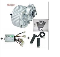 Wholesale MY1018 W V DC brushed motor electric bicycle kit electric bike kit china