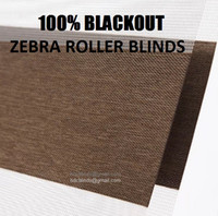 Wholesale 100 Blackout Zebra Roller Blinds CUSTOMIZED
