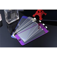 Wholesale Color Mirror Tempered Glass Front Back Set Screen Protectors Film For iPhone Plus
