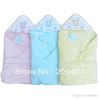 Wholesale Plus size velvet thermal blankets baby winter was newborn parisarc bags freeshipping