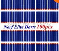Wholesale 100pcs Nerf N strike Elite Rampage Retaliator Series Blasters Refill Clip Darts electric toy gun soft nerf bullet