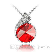 austrian names - Austrian crystal necklace the name of love colours