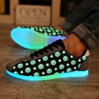 Cheap men shoes Best luminous shoes