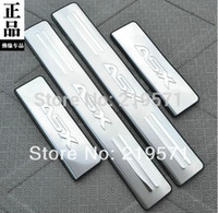 Wholesale freeshipping Mitsubishi ASX RVR stainless steel scuff plate door sill set car accessories for Mitsubishi Lancer
