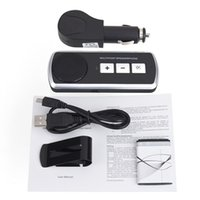 Wholesale Speakerphone Handsfree Bluetooth headphone Bluetooth Car Kit Wireless Speaker USB Multipoint Speaker for Cell Phone Handsfree Car Kit