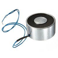 Wholesale New for DC V kg LB Electromagnet Electric Lifting Magnet Solenoid Lift Holding