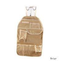 bg cars - New Practical Car Sundries Multi Pocket Storage Organizer Arrangement Bag Of Back Seat Of Chair Colors Shipping HG BG