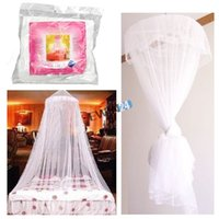 canopy - Brand New and High Quality Arrival Summer Bedding Mesh Lace Canopy Round Dome Insect Mosquito Netting