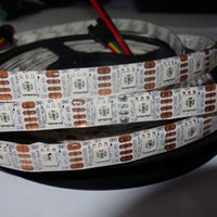 apa strip - IP65 white pcb M DC5V APA C addressable led pixel strip leds m with pixels m waterproof in silicon coating
