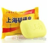 Wholesale New Shanghai Sulfur Soap Skin Conditions Acne Psoriasis Seborrhea Eczema Anti Fungus g Cheapest piece