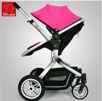 Wholesale G u bi bies folding bikes Four wheel adjustable light baby cart pram