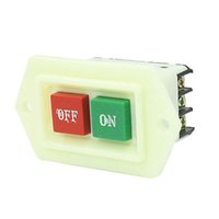 ac start - LC3 Red Green On Off Start Stop Push Button Switch KW V AC order lt no track