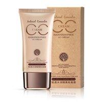 Wholesale 100pcs Hot Korean BIOAOUA BB cream Refreshing Hydra isolation CC Cream Cosmetic Whitening Concealer Makeup Concealer