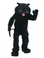 Wholesale LJP604 Hot sale Adult lovely Black Panther mascot costume fancy dress Christmas party costume
