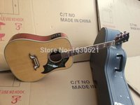Wholesale New Guitar Factory Chinese Made GB Dove Acoustic Guitar Chibson acoustic guitar full copy Official logo Dove Acoustic