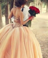 Cheap coral wedding dresses Best sweety wedding dresses with bling