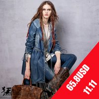 artka fashion - Artka fashion women trench new autumn denim coat