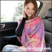 air process - P classic folk style WARATAH Office of air conditioning room large female selling customized processing scarf