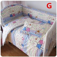Wholesale High Quality Cotton Baby Cot Set Crib Bedding Bumpers Sheet SET Colors Different Sizes For Your Need Very Soft