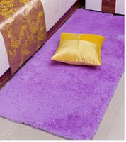 plush carpet - Hot Sale New Arrival Colors mm mm Long Plush Shaggy Soft Carpet Area Rug Slip Resistant Door Floor Mat For Bedroom Living Room