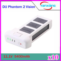 Wholesale 10pcs DJI Phantom Battery Replacement DJI Smart Battery V mah C Battery for DJI Phantom Vision DJI Phantom Vision ZY DJI