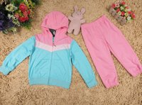 name brand baby clothes - new autumn children clothing sport suit with long sleeve t shirt pants brand name Kids Clothes baby clothing new