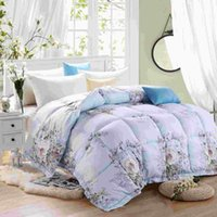 acrylic company - The company with a white goose down duvet is thickened winter cotton downproof quilt group purchase gift