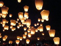 Cheap WHOLESALE 30 PCS WHITE CHINESE Kongming Lantern Sky lanterns Kongming Light WISH BALLOON KHOOM FAY WEDDING BIRTHDAY PARTY