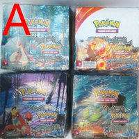 anime - Retail Lastest Edition POKE XY Trading Cards English Anime Poke Cards toys for children Toys Of Classic HX